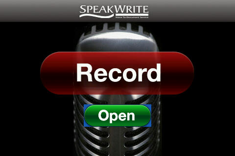 SpeakWrite for 9700 bold apps