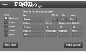 Food Journal v1.0.3