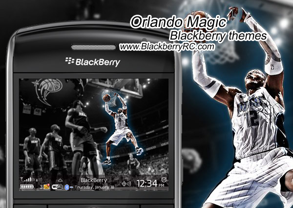Orlando Magic themes for bb 89xx os4.6.1