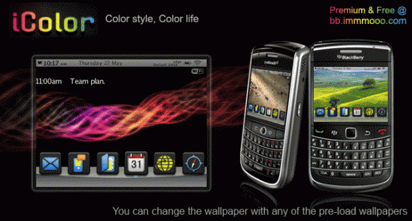 iColor 9650, 9700 Themes