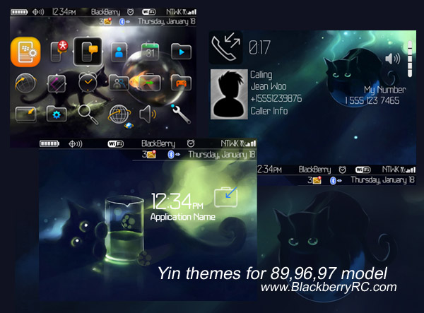 free Yin themes for 89,96,97 model