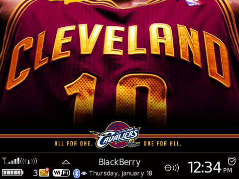 Cleveland Cavaliers for 89xx themes
