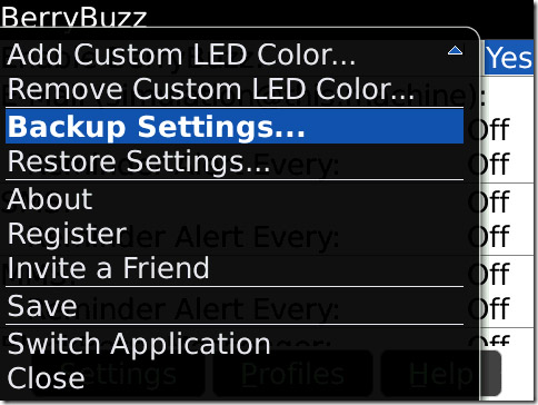 BerryBuzz v2.2.11 for 95xx,96xx apps