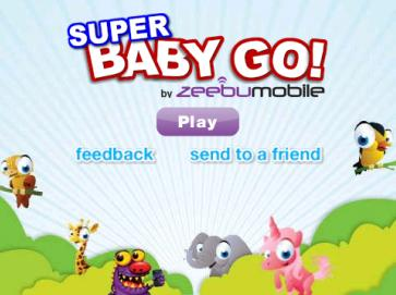 Super Baby Go games for blackberry