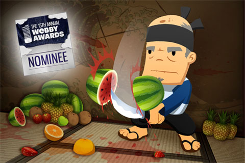 Fruit Ninja for blackberry ringtones