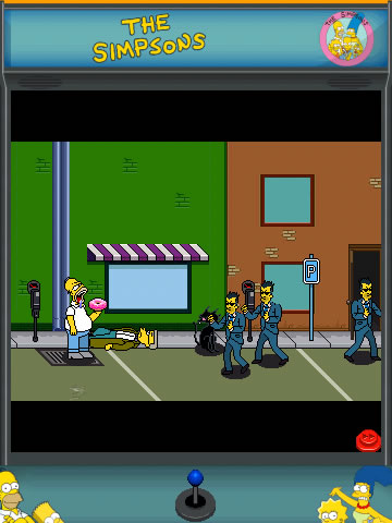 The Simpsons Arcade 95xx games