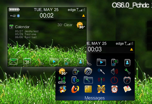 OS6.0 icon PCHDC for blackberry themes