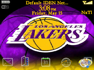 Lakers Custom 4.6 Bottom Dock 8350i themes