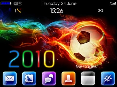 2010 World Cup Bold 9650 Themes