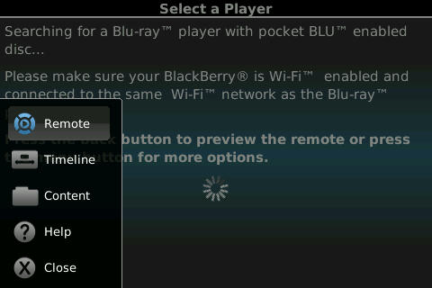 PocketBLU applications for blackberry