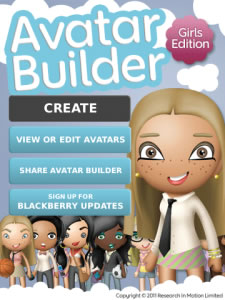 Avatar Builder Girls Edition