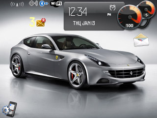 <b>Ferrari FF for blackberry 83,87,88xx themes</b>