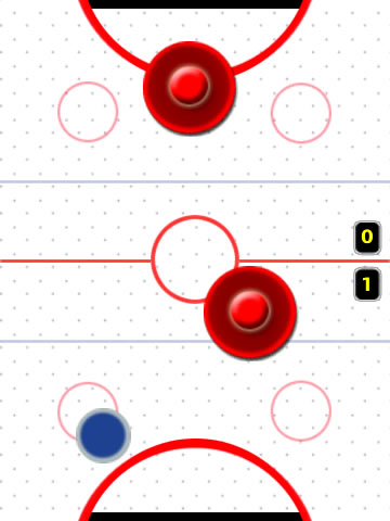 Air Hockey for blackberry storm games