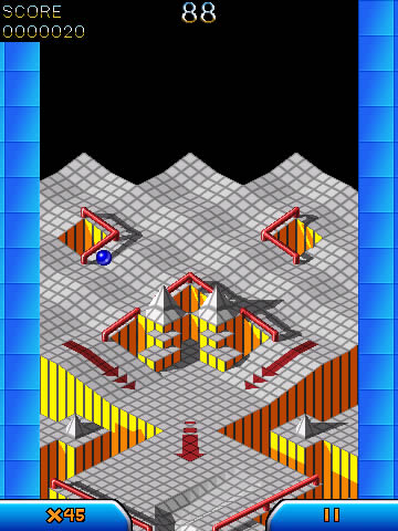 Marble Madness for blackberry 9500 games
