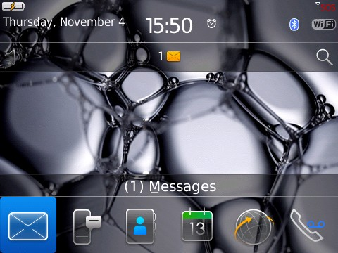 Prequel OS6.0 Themes for Blackberry 8900,96xx,970