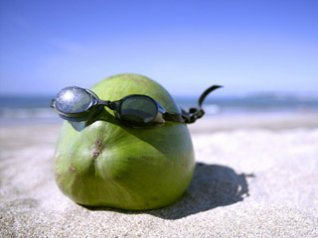 Fruit with glasses desktop wallpapers
