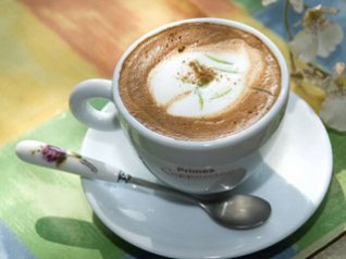 Cappuccino Coffee 480x320 wallpapers