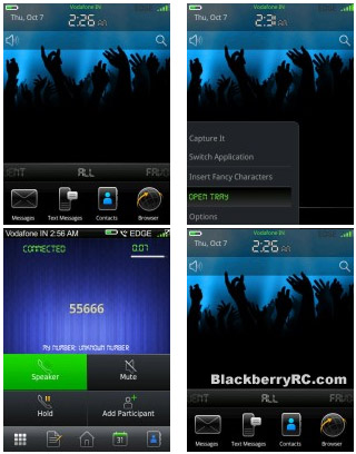 Digital Nightlife os6.0 blackberry 9800 torch themes