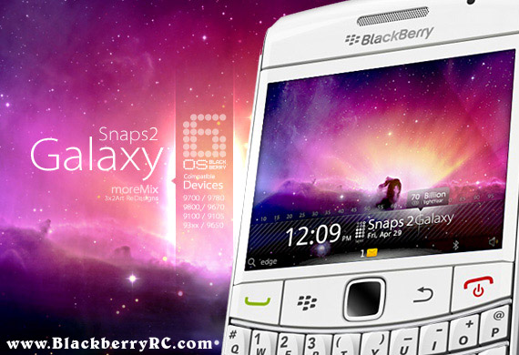Snaps 2 Galaxy Extreme - blackberry 93xx themes