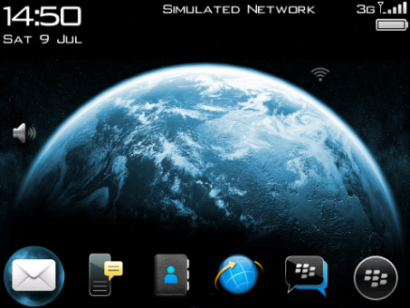 Earth 2.0 os7.0 icons for blackberry 89xx,96xx,97