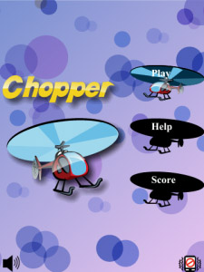 Chopper – Helicopter Game for BlackBerry Device