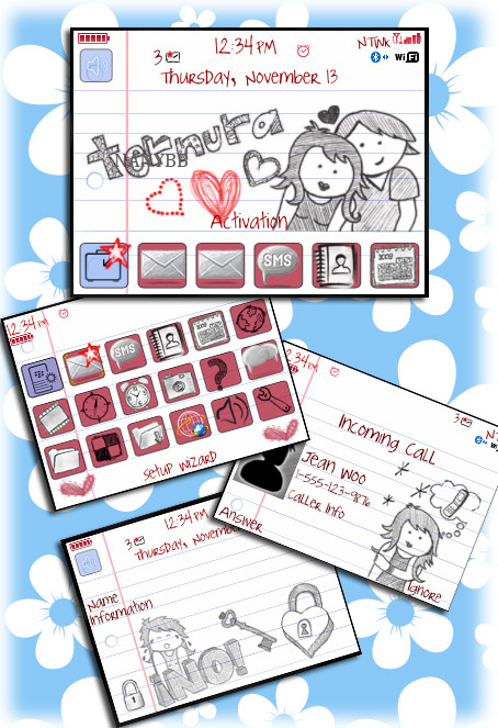 Awesome Pencil Art Theme for 85xx,93xx model os5