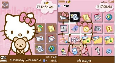 Hello Kitty Pink & Brown 85xx,93xx Themes