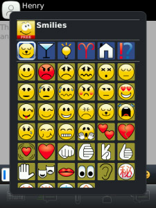 Easy Smiley Pack v1.6.6 For Blackberry Messenger