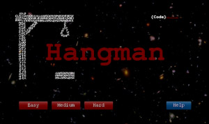 Hangman v1.1.1 for BlackBerry PlayBook Games