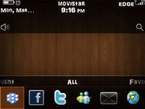 Wood Theme for bb 9700 os6 themes download