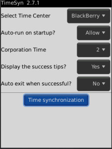 free TimeSyn v2.7.0 for 9780,9800,9900 apps