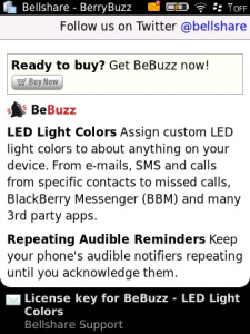 BeBuzz v4.0.82 Free - LED Light Colors(os4.2.1 - 4.6)