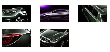 Infiniti JX Concept for playbook 1024x600 wallpap