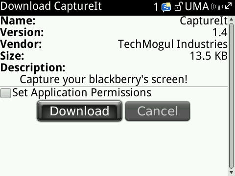 Blackberry porn application