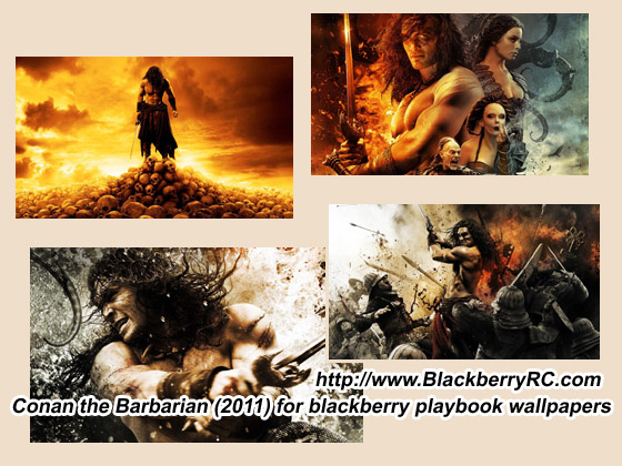 Conan the Barbarian (2011) for blackberry playbook wallpaper