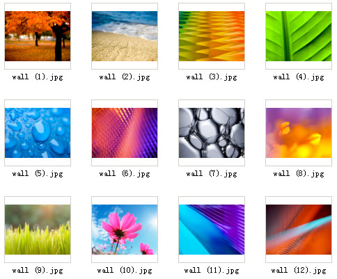 BlackBerry 9900 System Wallpapers Pack