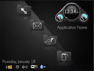 carbon fiber theme for bb free blackberry themes download