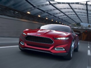 Ford Evos Concept 640x480 wallpaper