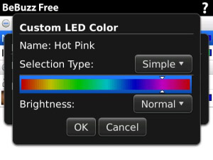 Free BeBuzz v4.0.87 - LED Light Colors os5.0 apps