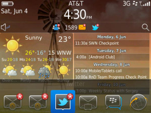 Fancy Widgets v1.3.1 for os5.0 blackberry apps