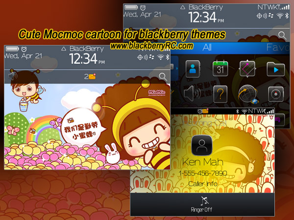 Free BlackBerry Themes Downloads