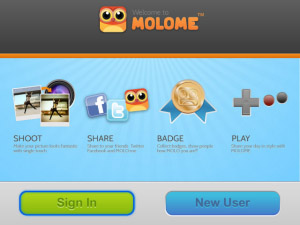 MOLOME v2.0.5 for blackberry applications