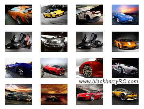 Auto World 640x480 for bb 9900, 9930 wallpapers pack