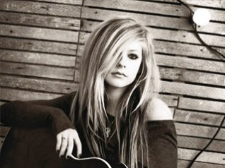 Avril Lavigne wallpapers for 9900 os7 model