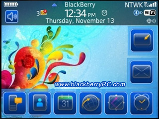 Culloricon os6.0 icon for blackberry themes os5.0