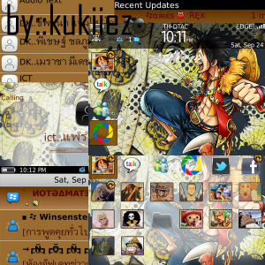 ONE PIECE_Blackberry Themes free download, Blackberry Apps