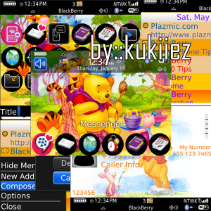 Blackberry Theme Dreamtorch Emulator Version Berryness