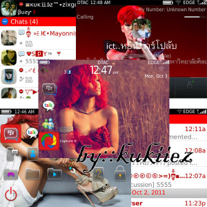 free Rihanna theme for 9700 9780 9650 os6.0