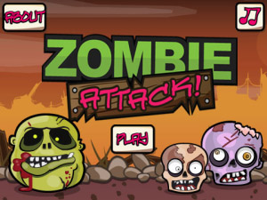 FREE Zombie Attack v1.1.44 blackberry games