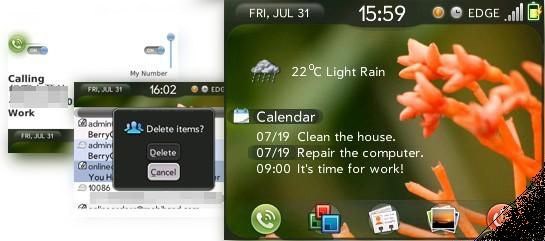 Palm PRE 2 themes for blackberry 83xx,87xx,88xx os4.5